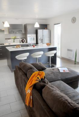 Maison+Terrain à vendre .(107 m²)(MORAGNE) avec (MAISON FAMILIALE)