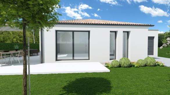 Maison+Terrain à vendre .(107 m²)(NIEULLE SUR SEUDRE) avec (MAISON FAMILIALE)