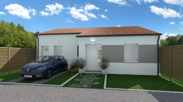 Maison+Terrain à vendre .(107 m²)(MEDIS) avec (MAISON FAMILIALE)