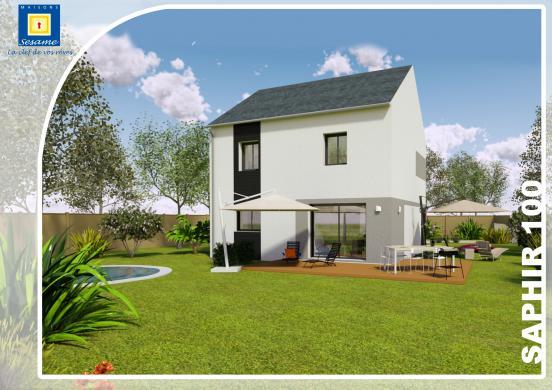 Maison+Terrain à vendre .(120 m²)(AULNAY SOUS BOIS) avec (MAISONS SESAME)