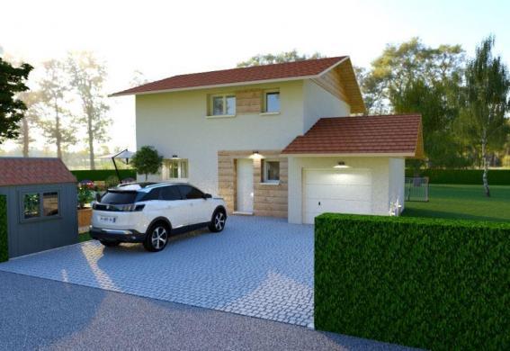 Maison à vendre .(86 m²)(FRONTENEX) avec (TRADITION LOGIS 73)