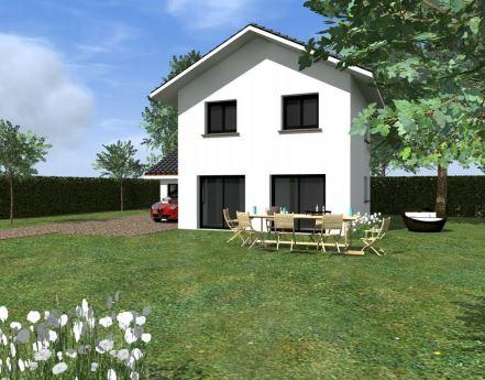 Maison à vendre .(83 m²)(MOUXY) avec (TRADITION LOGIS SAVOIE)