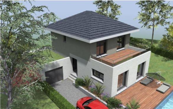 Maison à vendre .(91 m²)(DRUMETTAZ CLARAFOND) avec (TRADITION LOGIS SAVOIE)