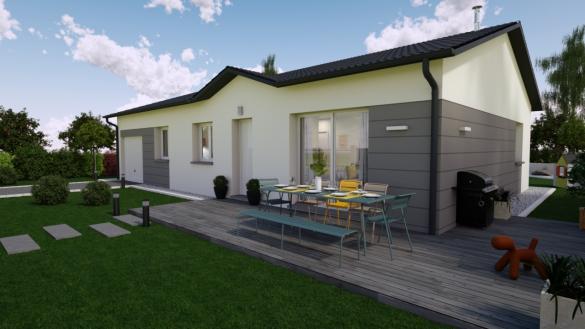 Maison+Terrain à vendre .(78 m²)(ETUZ) avec (MAISONS PUNCH BESANCON)