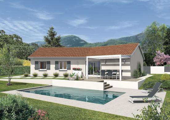 Maison+Terrain à vendre .(96 m²)(JALLERANGE) avec (MAISONS PUNCH BESANCON)