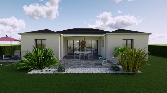 Maison+Terrain à vendre .(95 m²)(BESANCON) avec (MAISONS PUNCH BESANCON)