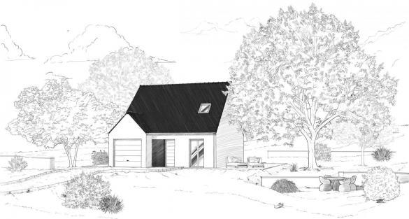 Maison à vendre .(89 m²)(ESTREES SAINT DENIS) avec (MAISONS PIERRE)