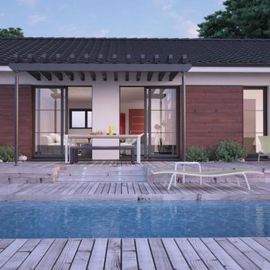 Maison+Terrain à vendre .(90 m²)(LE PIAN MEDOC) avec (COULEUR VILLAS - AGENCE BLANQUEFORT)