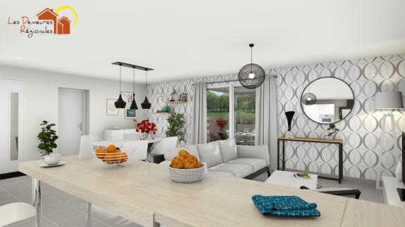 Maison+Terrain à vendre .(90 m²)(NOCHIZE) avec (LES DEMEURES REGIONALES)