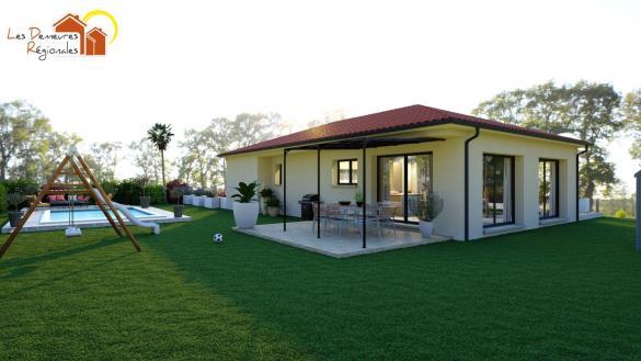 Maison+Terrain à vendre .(105 m²)(MARCILLY LA GUEURCE) avec (LES DEMEURES REGIONALES)