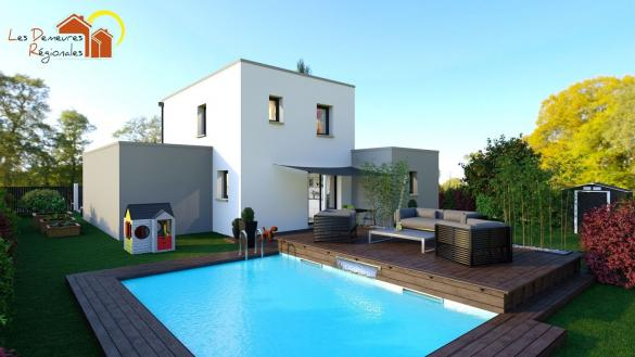 Maison+Terrain à vendre .(99 m²)(PARAY LE MONIAL) avec (LES DEMEURES REGIONALES)