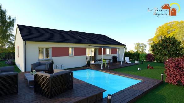 Maison+Terrain à vendre .(90 m²)(MARCILLY LA GUEURCE) avec (LES DEMEURES REGIONALES)
