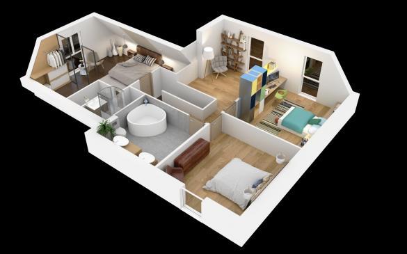 Maison+Terrain à vendre .(130 m²)(ONANS) avec (MAISONS CRISALIS)
