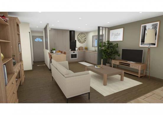 Maison à vendre .(75 m²)(BERGERAC) avec (LES MAISONS AURA - AGENCE DE BERGERAC)