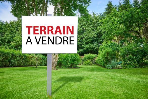 Terrain à vendre .(850 m²)(DAUBEUF PRES VATTEVILLE) avec (MAISONS EXTRACO - Agence de PONT DE L ARCHE)