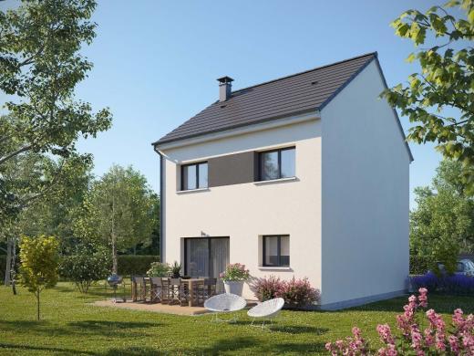 Maison+Terrain à vendre .(88 m²)(LOUVIERS) avec (MAISONS EXTRACO - Agence de PONT DE L ARCHE)