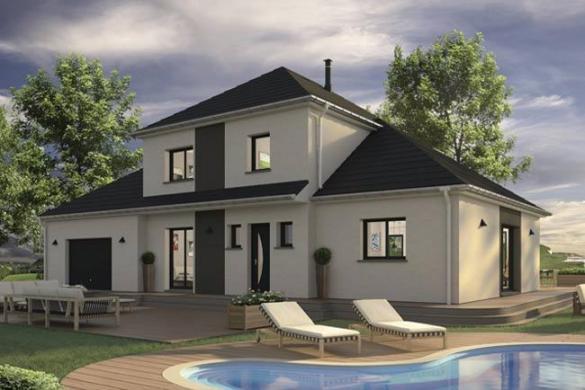 Maison+Terrain à vendre .(139 m²)(LOUVIERS) avec (MAISONS EXTRACO - Agence de PONT DE L ARCHE)