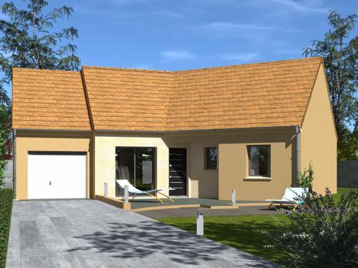 Maison+Terrain à vendre .(91 m²)(VIBRAYE) avec (Les Maisons Lelievre)