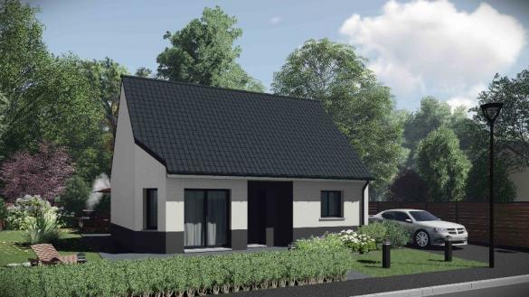 Maison+Terrain à vendre .(60 m²)(BOSC GUERARD SAINT ADRIEN) avec (MAISONS EXTRACO)