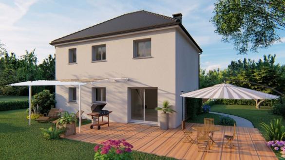 Maison+Terrain à vendre .(114 m²)(SAINT ETIENNE DU ROUVRAY) avec (MAISONS EXTRACO)