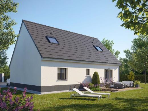 Maison+Terrain à vendre .(105 m²)(CAUMONT) avec (MAISONS EXTRACO)