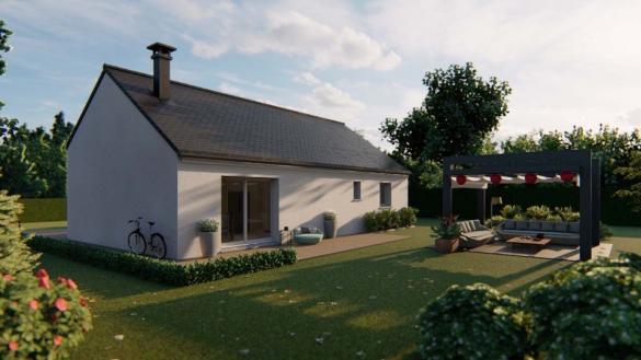 Maison+Terrain à vendre .(82 m²)(LA LONDE) avec (MAISONS EXTRACO)