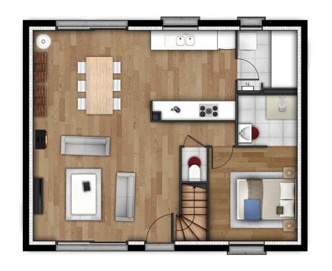Maison+Terrain à vendre .(114 m²)(GRAND COURONNE) avec (MAISONS EXTRACO)