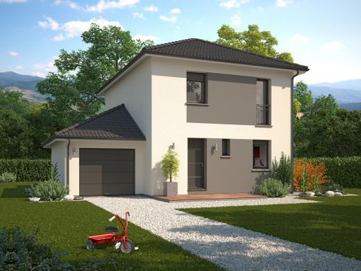 Maison+Terrain à vendre .(85 m²)(PONTCHARRA) avec (Maison Familiale Drumettaz Clarafond)