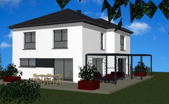 Maison+Terrain à vendre .(113 m²)(CHANONAT) avec (MAISONS ARLOGIS)