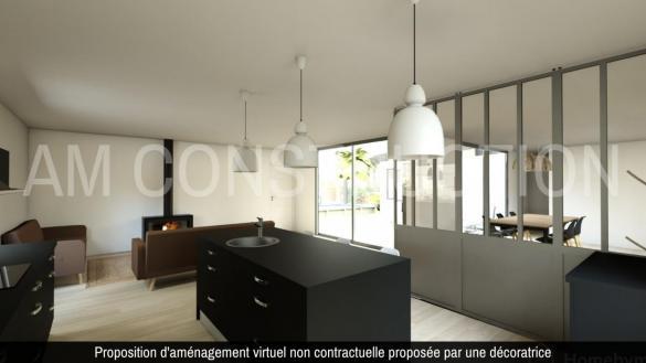 Maison+Terrain à vendre .(78 m²)(LE BOULOU) avec (A M CONSTRUCTIONS)