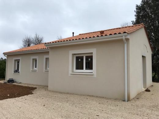 Maison+Terrain à vendre .(95 m²)(LAMONZIE SAINT MARTIN) avec (MAISONS ALIENOR - AGENCE DE BERGERAC)