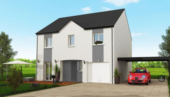 Maison+Terrain à vendre .(114 m²)(CHAILLY EN BIERE) avec (MAISON 7 SENS)