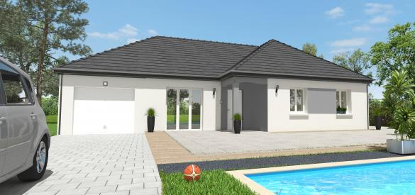 Maison+Terrain à vendre .(91 m²)(SAINT SAUVEUR SUR ECOLE) avec (MAISON 7 SENS)