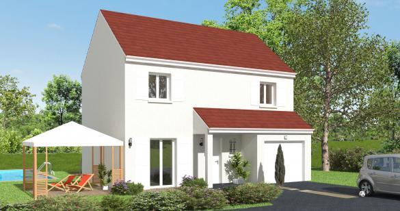 Maison+Terrain à vendre .(92 m²)(BOURRON MARLOTTE) avec (MAISON 7 SENS)