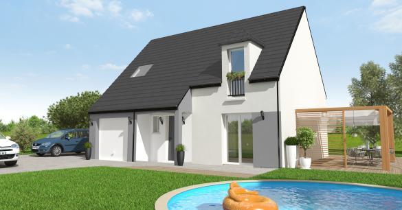 Maison+Terrain à vendre .(98 m²)(PERTHES) avec (MAISON 7 SENS)