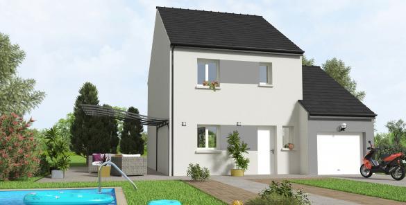 Maison+Terrain à vendre .(85 m²)(CORBEIL ESSONNES) avec (MAISON 7 SENS)