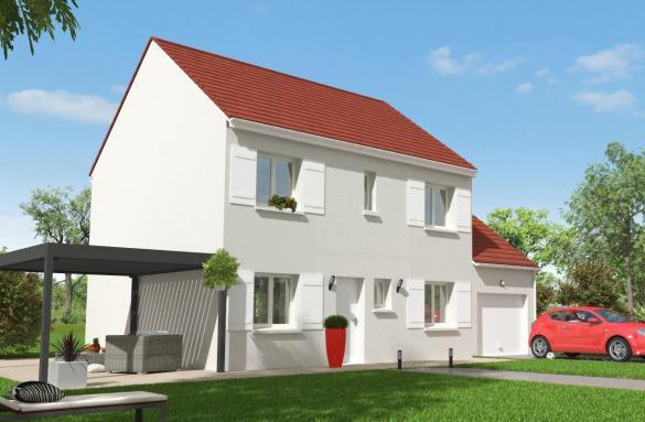Maison+Terrain à vendre .(105 m²)(BRIE COMTE ROBERT) avec (MAISON 7 SENS)