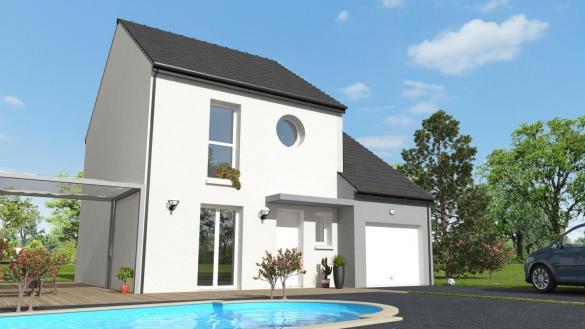 Maison+Terrain à vendre .(88 m²)(MORSANG SUR ORGE) avec (MAISON 7 SENS)