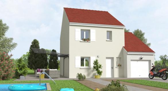 Maison+Terrain à vendre .(81 m²)(VILLIERS SUR MARNE) avec (MAISON 7 SENS)