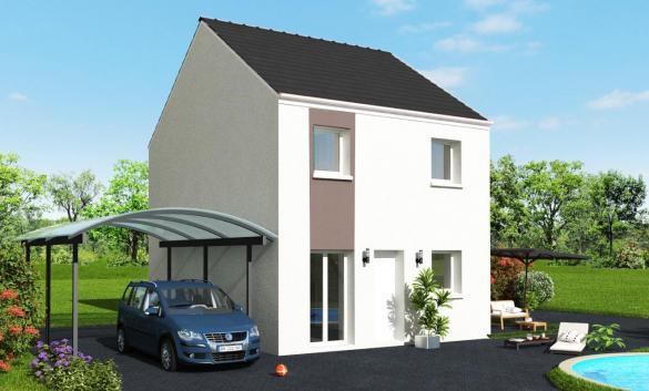 Maison+Terrain à vendre .(78 m²)(BOISSY LE CHATEL) avec (MAISON 7 SENS)