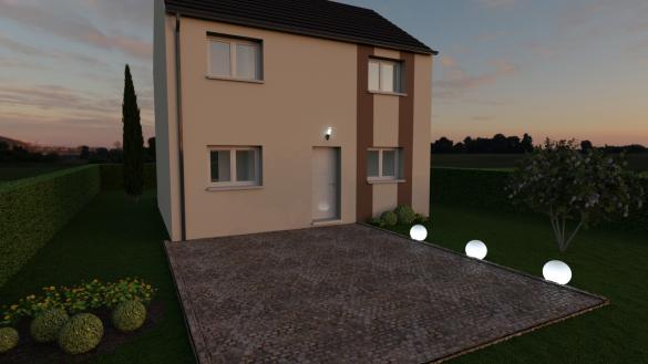Maison+Terrain à vendre .(90 m²)(BOISSY SOUS SAINT YON) avec (MAISON 7 SENS)