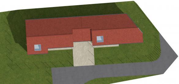 Maison à vendre .(95 m²)(LOYETTES) avec (TOITS DE PROVINCE - MEXIMIEUX)