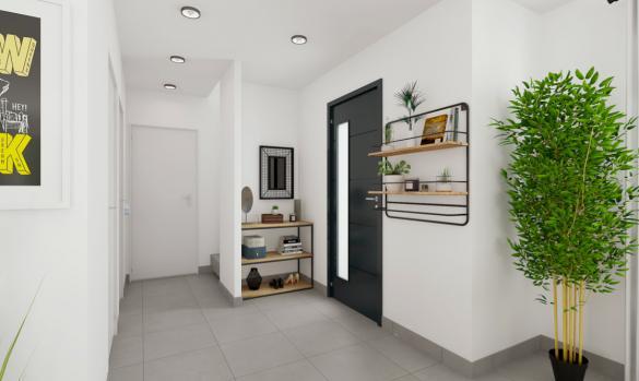 Maison+Terrain à vendre .(110 m²)(ISLES SUR SUIPPE) avec (MAISONS ARLOGIS REIMS)
