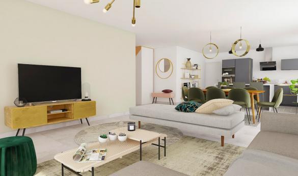 Maison+Terrain à vendre .(125 m²)(ISLES SUR SUIPPE) avec (MAISONS ARLOGIS REIMS)