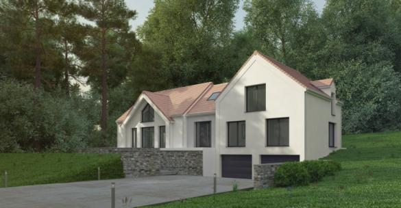 Maison+Terrain à vendre .(170 m²)(LAMORLAYE) avec (MA MAISON EN YVELINES)
