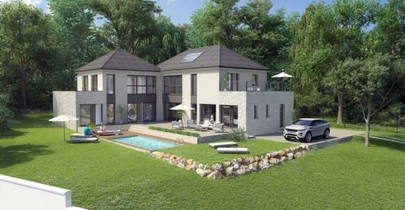 Maison+Terrain à vendre .(200 m²)(LAMORLAYE) avec (MA MAISON EN YVELINES)