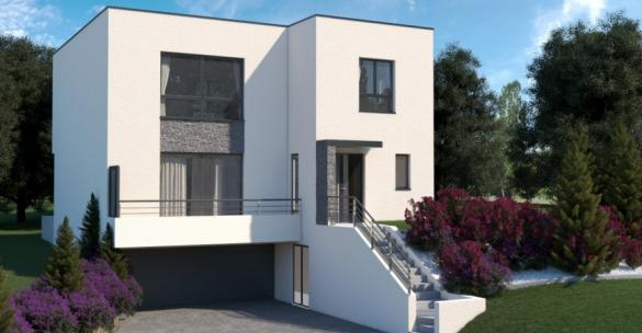 Maison+Terrain à vendre .(149 m²)(L'ISLE ADAM) avec (MA MAISON EN YVELINES)