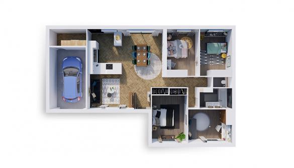 Maison à vendre .(97 m²)(SAINT GEORGES DE RENEINS) avec (NATILIA)