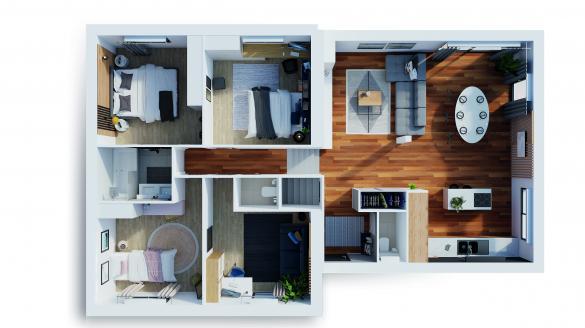 Maison à vendre .(92 m²)(FRANS) avec (NATILIA)