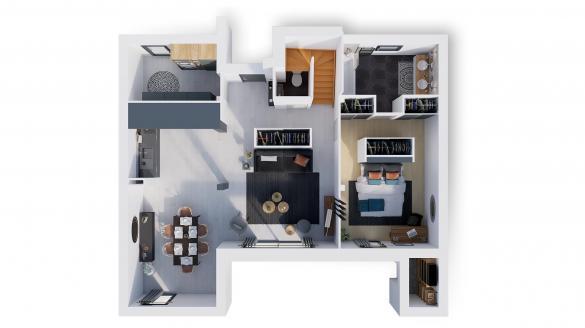 Maison à vendre .(140 m²)(DENICE) avec (NATILIA)